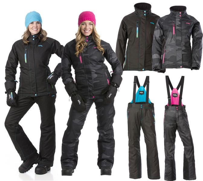 a31e914a963 AllSnowmobileGear.com - Divas - DSG Craze Insulated 2-Piece Snow Suit -  Women s