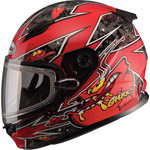 GMAX - GM49YS Kid's Youth Snowmobile Helmet
