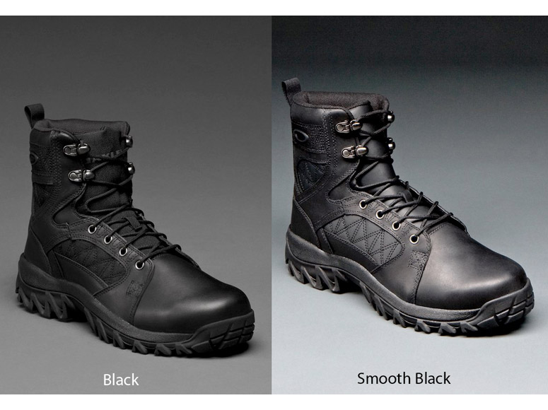 Black Oakley Boots